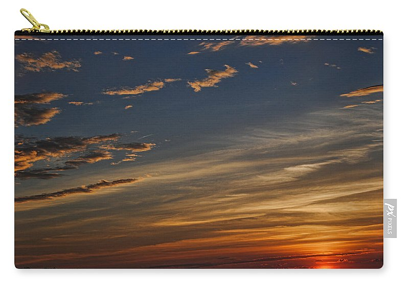 Sunset Carry-all Pouch featuring the photograph Sunset by George Fredericks