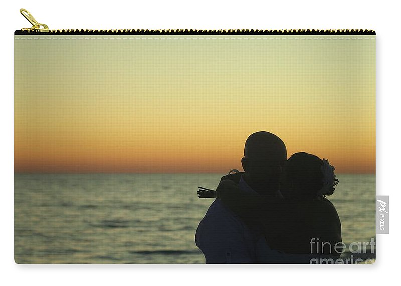 Sunset Carry-all Pouch featuring the photograph Sunset Kiss by Michelle Powell