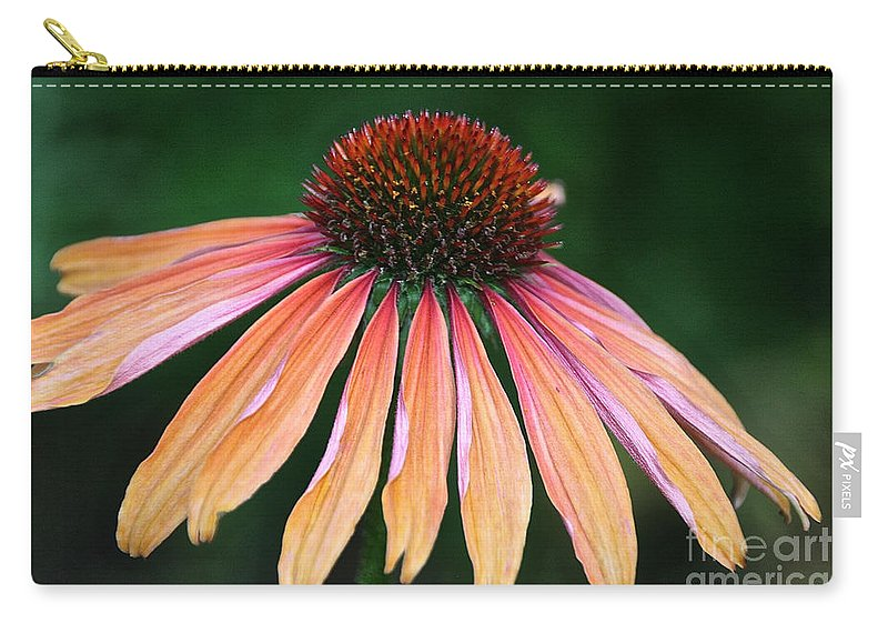 Flower Carry-all Pouch featuring the photograph Sunset by Susan Herber