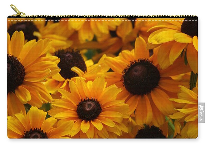 Flowers Carry-all Pouch featuring the photograph Sunshine On A Stem by Crystal Nederman