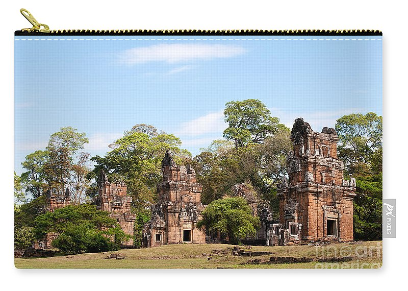 Suor Carry-all Pouch featuring the photograph Suor Prat Towers 02 by Rick Piper Photography