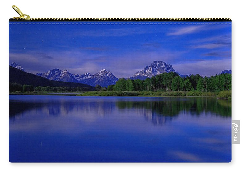 Nature Carry-all Pouch featuring the photograph Super Moon by Chad Dutson