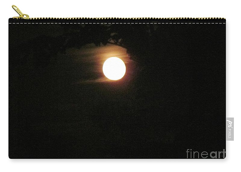 Moon Carry-all Pouch featuring the photograph Super Moon by Don Baker