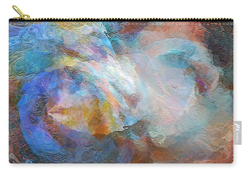 Hotel Art Carry-all Pouch featuring the digital art Surf Of The Spirit by Margie Chapman