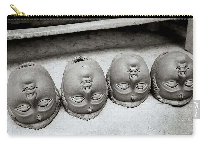 Bizarre Carry-all Pouch featuring the photograph Surreal Kolkata by Shaun Higson