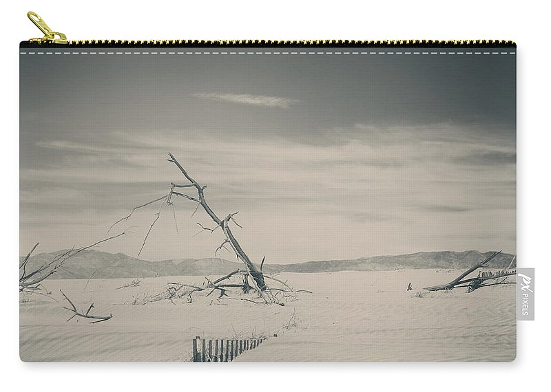 Palm Desert Carry-all Pouch featuring the photograph Swallowed Up by Laurie Search