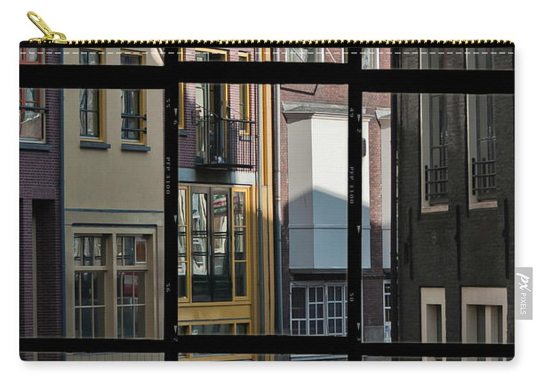 Joan Carroll Carry-all Pouch featuring the photograph Swans Love Amsterdam by Joan Carroll