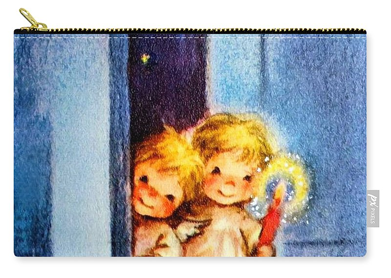 Sweet Carry-all Pouch featuring the photograph Sweet Angles by Munir Alawi