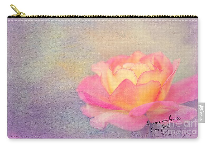 Bloom Carry-all Pouch featuring the photograph Sweet Are The Memories by Beve Brown-Clark Photography