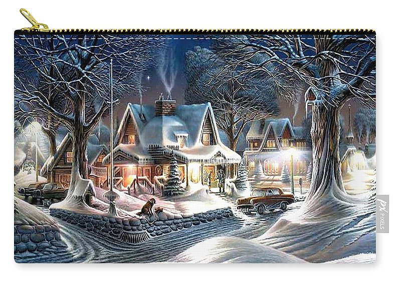 Sweet Carry-all Pouch featuring the photograph Sweet Homes by Munir Alawi