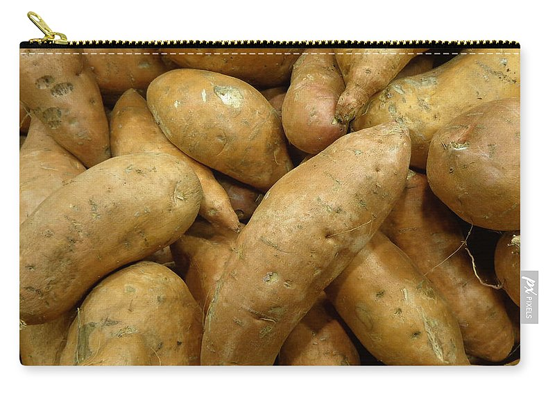 Joseph Skompski Carry-all Pouch featuring the photograph Sweet Potatoes by Joseph Skompski