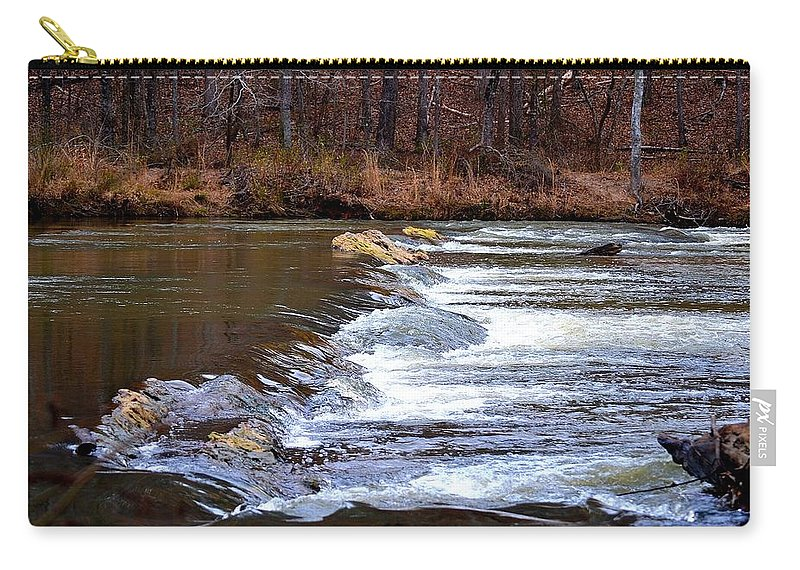 Sweetwater Creek State Park Carry-all Pouch featuring the photograph Sweetwater Creek by Tara Potts