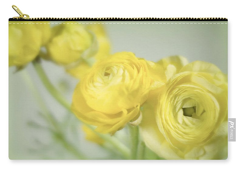 Flowers Carry-all Pouch featuring the photograph Swell Of Yellow by Diana Angstadt