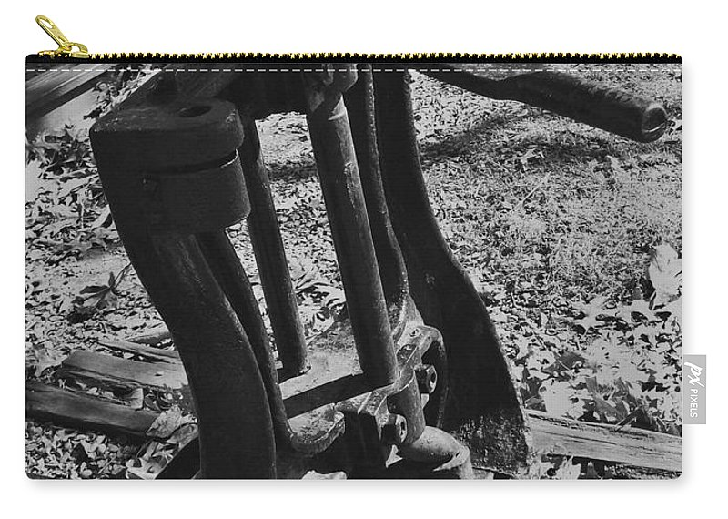 Railroad Carry-all Pouch featuring the photograph Switching Tracks by Sara Raber