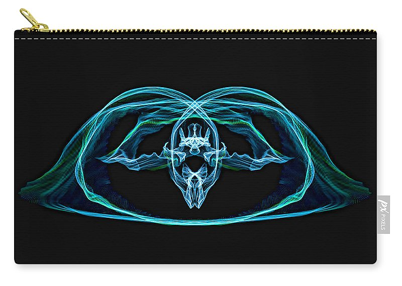 Carry-all Pouch featuring the photograph Symmetry Art by Cathy Anderson