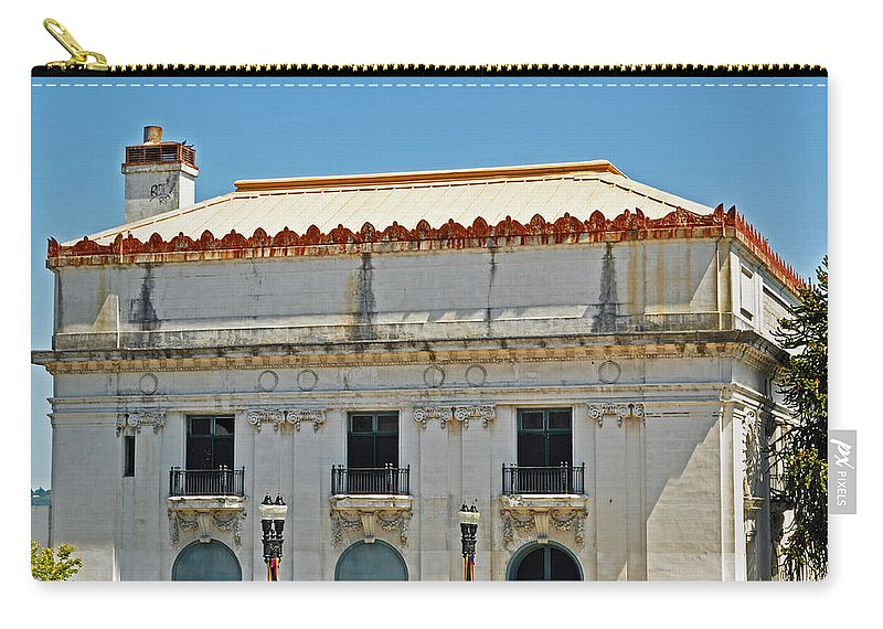 Tacoma Elks Club Carry-all Pouch featuring the photograph Tacoma Elks Club by Tikvah's Hope