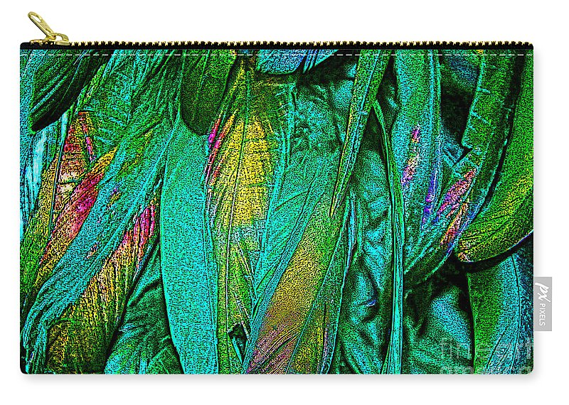 Keri West Carry-all Pouch featuring the photograph Tail Feathers by Keri West