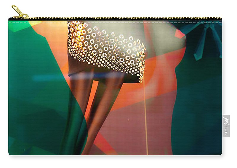 Abstract Carry-all Pouch featuring the photograph Tailored Nights by The Artist Project