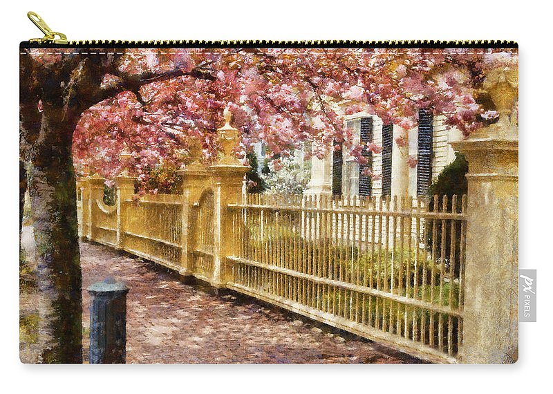 Federal Street Carry-all Pouch featuring the photograph Take A Walk Along Federal Street by Jeff Folger