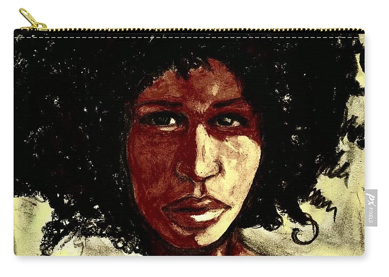 Beautiful Carry-all Pouch featuring the photograph Take me or leave me Alone by Artist RiA