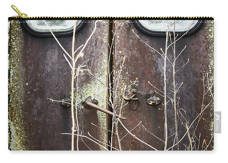 Door Carry-all Pouch featuring the photograph Tall Doors by Margie Hurwich