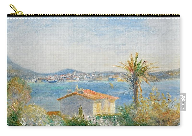 Renoir Carry-all Pouch featuring the painting Tamaris by Renoir