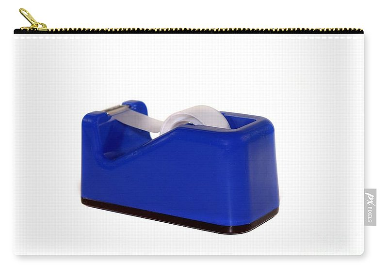 Roll Carry-all Pouch featuring the photograph Tape Dispenser by Henrik Lehnerer