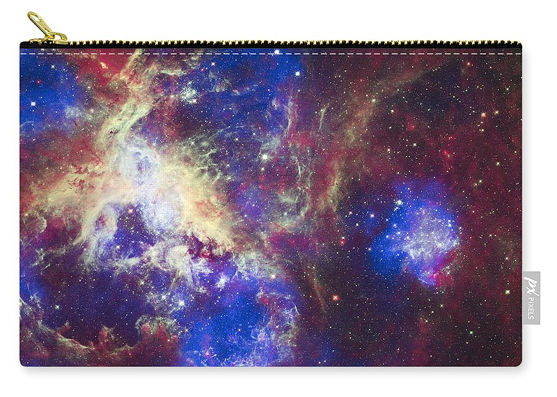 3scape Carry-all Pouch featuring the photograph Tarantula Nebula by Adam Romanowicz