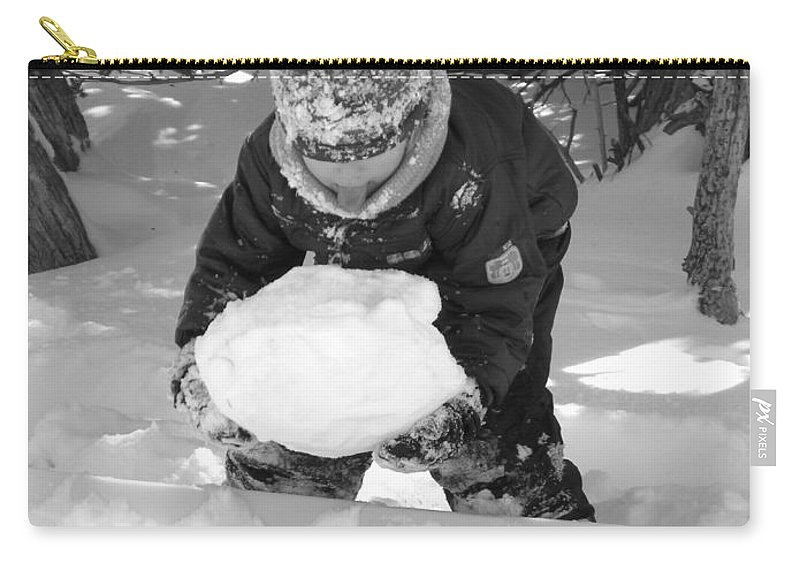 Tasting Carry-all Pouch featuring the photograph Tasting Winter by Sheri Lauren