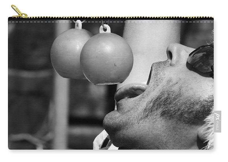 Pride Festival Carry-all Pouch featuring the photograph Tasty Juggler by The Artist Project