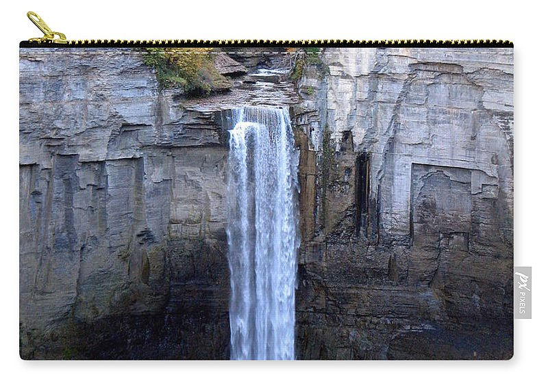 Taughannock Falls Carry-all Pouch featuring the photograph Taughannock Falls by Rose Santuci-Sofranko