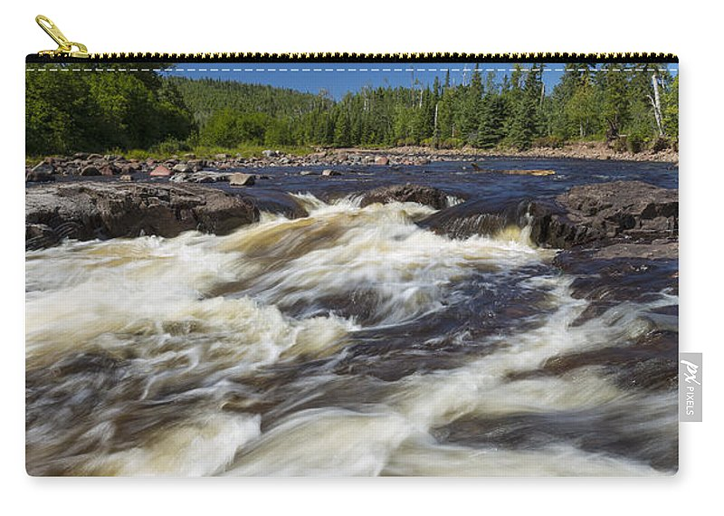 Water Carry-all Pouch featuring the photograph Temperance River 4 by John Brueske