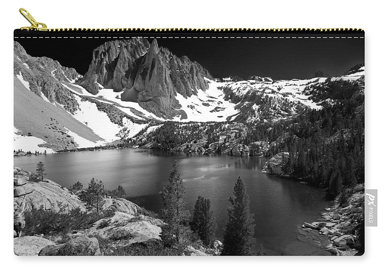 Lake Carry-all Pouch featuring the photograph Temple Crag by Cat Connor