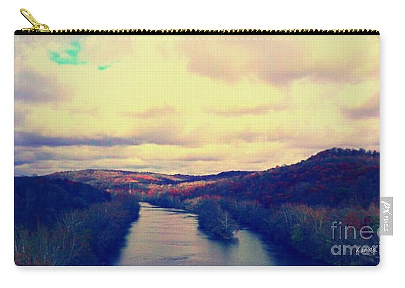 Tennessee Carry-all Pouch featuring the photograph Tennessee Landscape by Linda Waidelich