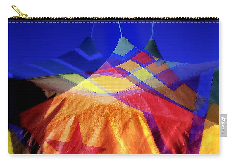 Tent Carry-all Pouch featuring the photograph Tent Of Dreams by Wayne Sherriff