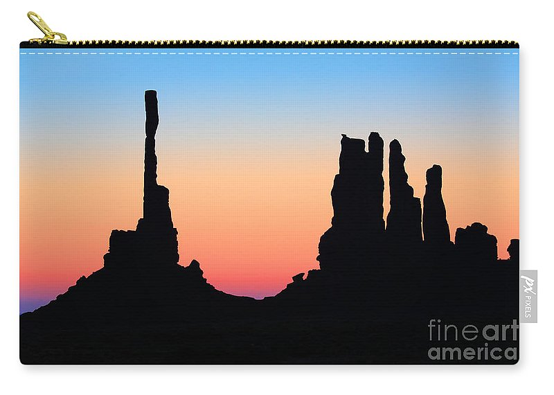 America Carry-all Pouch featuring the photograph Tequila Sunrise by Inge Johnsson