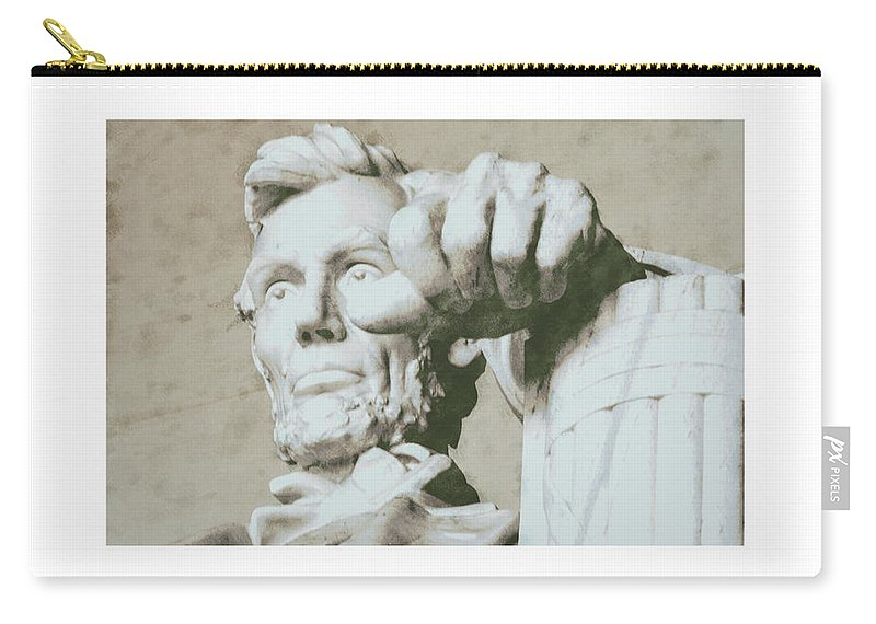 Carry-all Pouch featuring the photograph Test by David Lange