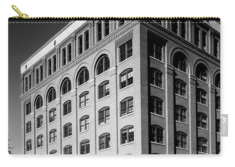 President Carry-all Pouch featuring the photograph Texas Depository by Benjamin Yeager