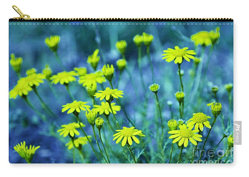 Wildflowers Carry-all Pouch featuring the photograph Texas Wildflowers V4 by Douglas Barnard