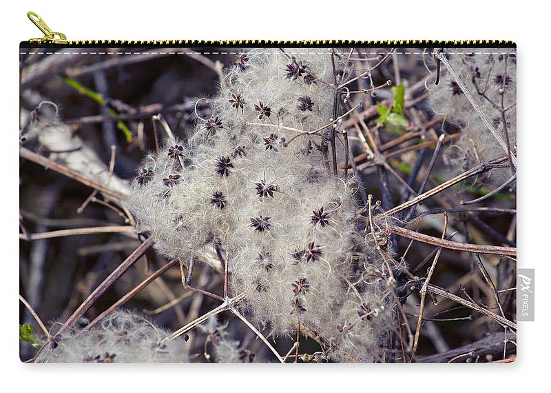 Twigs Carry-all Pouch featuring the photograph Texture by Tikvah's Hope
