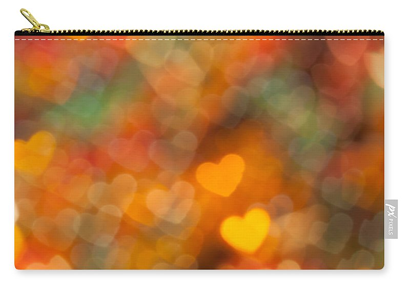 Abstract Carry-all Pouch featuring the photograph Thanksgiving by Jan Bickerton