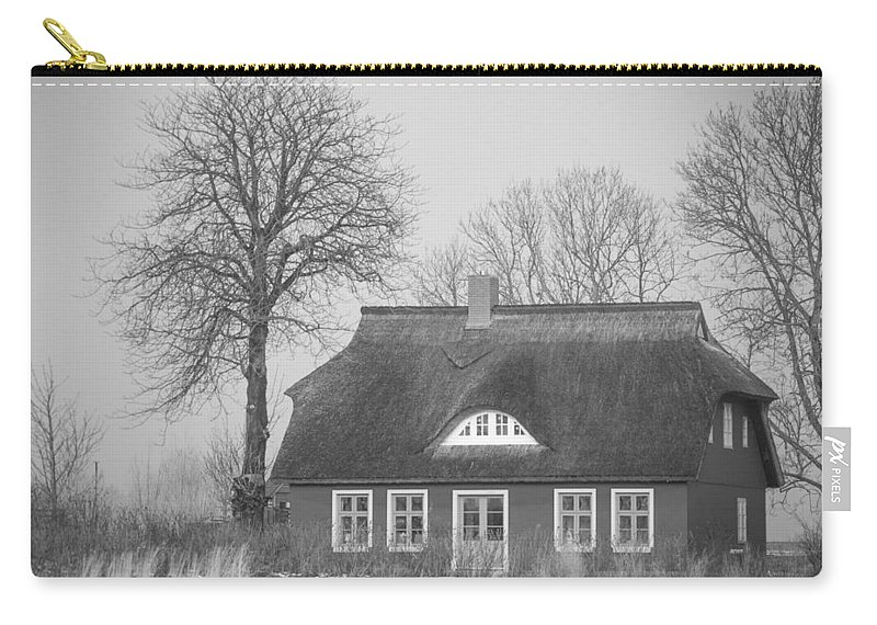 Island Of Ruegen Carry-all Pouch featuring the photograph Thatched Roof by Ralf Kaiser