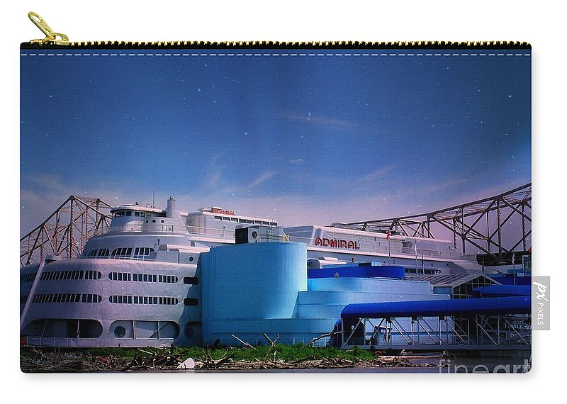 Carry-all Pouch featuring the photograph The Admiral In Space by Kelly Awad
