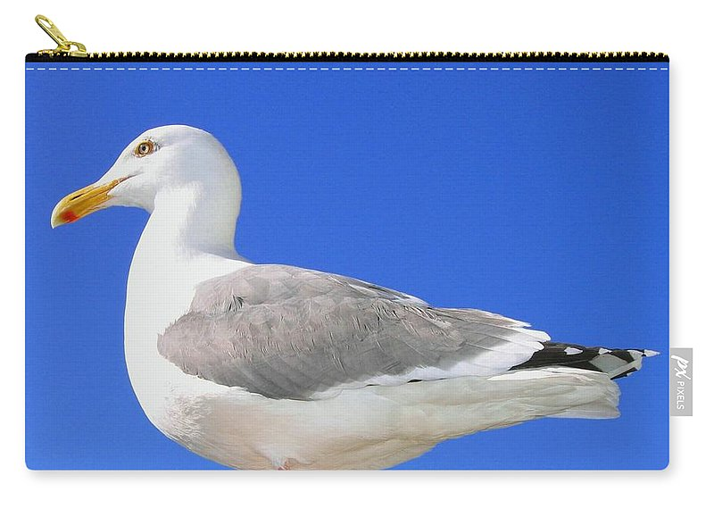 The Admiral Carry-all Pouch featuring the photograph The Admiral by Will Borden