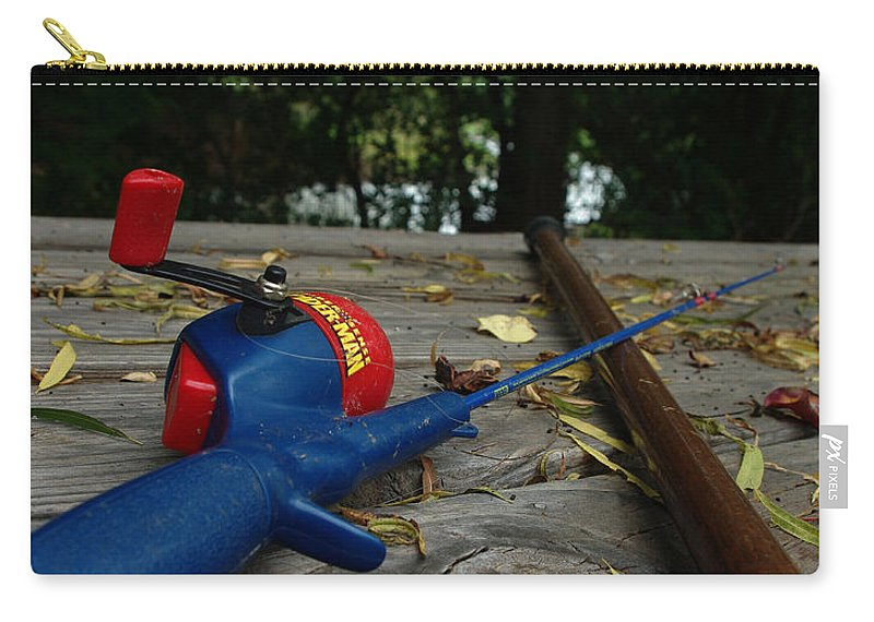 Angling Carry-all Pouch featuring the photograph The Anglers by Peter Piatt