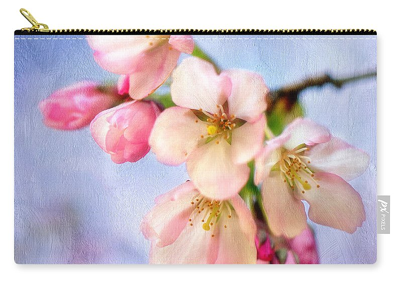 Bloom Carry-all Pouch featuring the photograph The Arrival by Beve Brown-Clark Photography