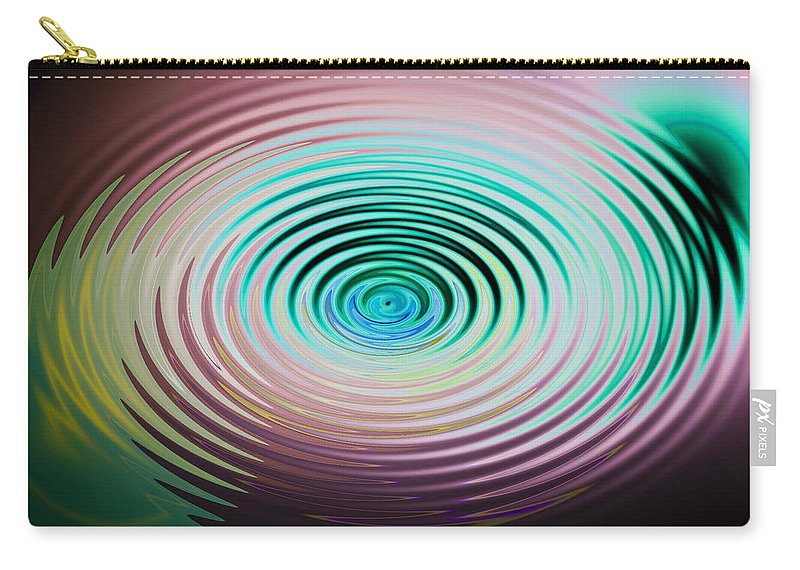 Ripples Carry-all Pouch featuring the photograph The Art Of Ripples by David Pyatt