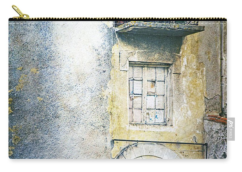Window Carry-all Pouch featuring the photograph The Balcony Scene by Heiko Koehrer-Wagner