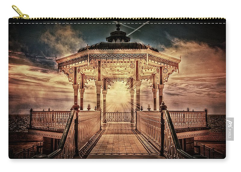 Bandstand Carry-all Pouch featuring the photograph The Bandstand by Chris Lord