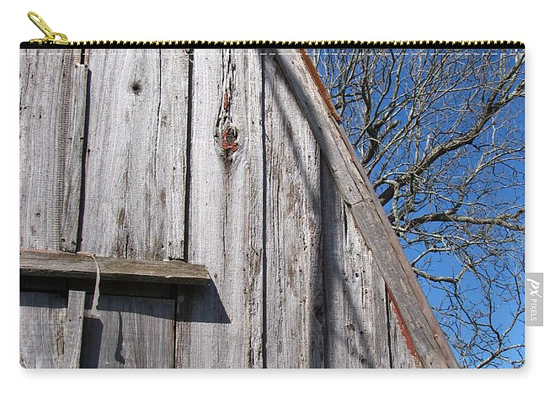 The Barn Carry-all Pouch featuring the photograph The Barn by Beth Vincent